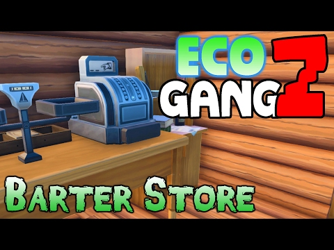 ECO Multiplayer Gameplay - GangZ Co-Op - Ep 3: Barter Store