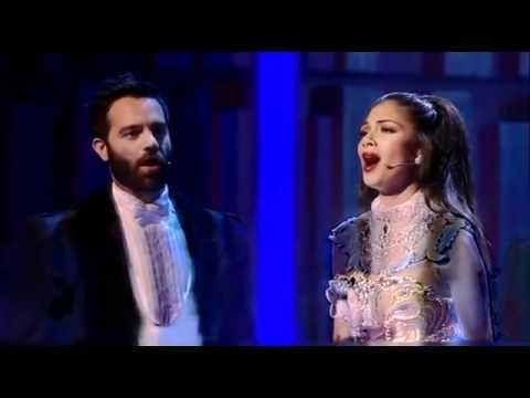 Nicole Scherzinger singing Phantom Of The Opera on Royal Variety Performance Dec. 14/11
