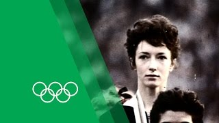 Ann Packer relives her 1964 Tokyo 800m Gold | Olympic Rewind