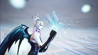 FORTNITE CUBE EVENT DUSK SKIN LOOKS PERFECT