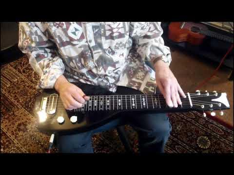 Video - Lap Steel Guitar Instruction GeorgeBoards Harmonica Licks