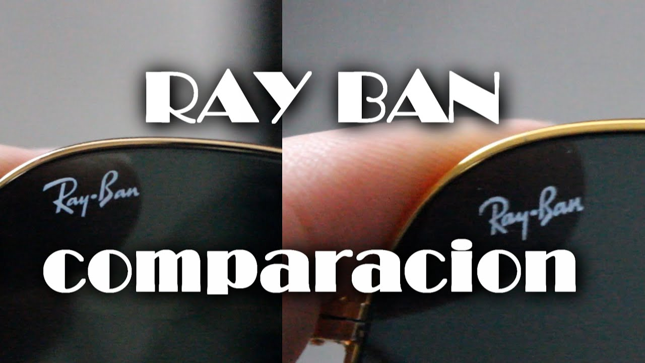 ray ban aviator original como saber
