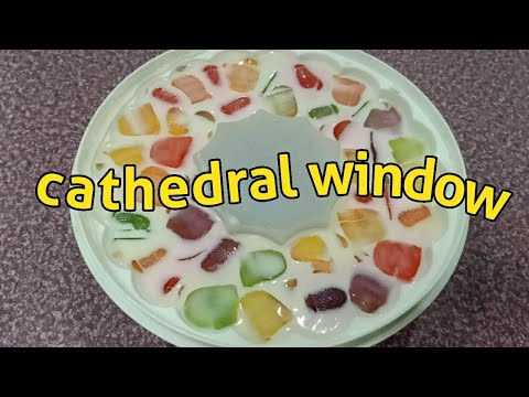 CATHEDRAL CEILING(WINDOW) RECIPE😃