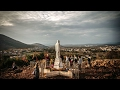 miraculous apparition of the virgin mary appears in clouds hd