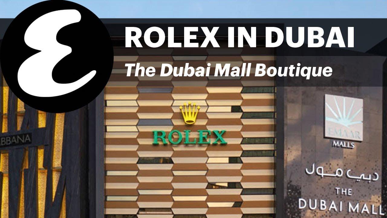 World's biggest Rolex store in Dubai Mall | Esquire Explores