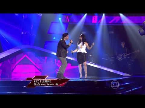 The Voice Brasil - Kiko e Jeanne se apresentam na Audição