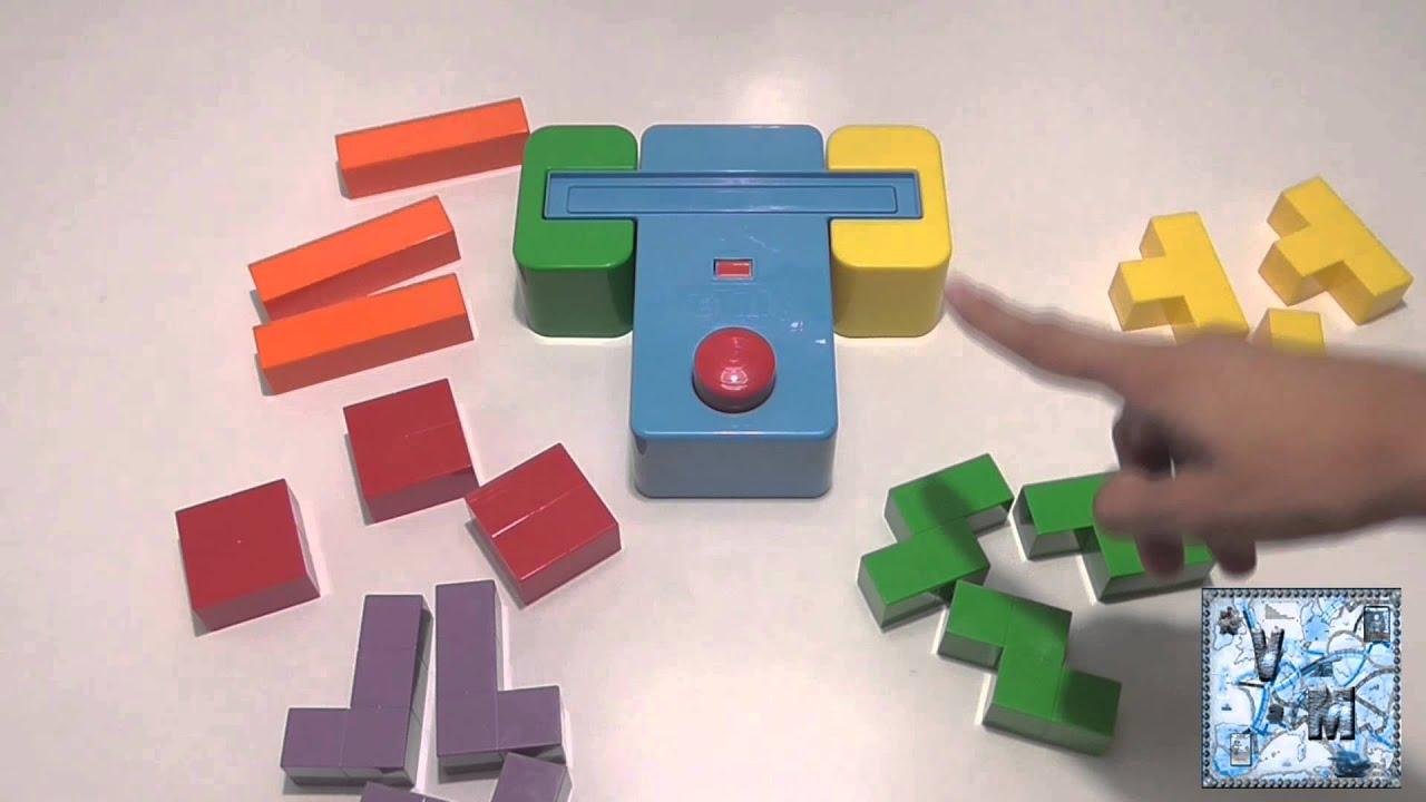 Tetris blocks juego de mesa infantil youtube for Viciados de mesa