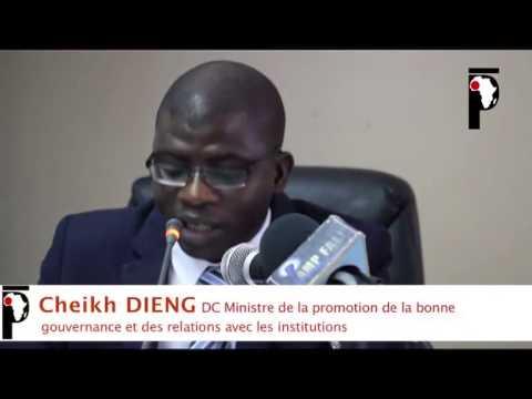 Cheikh DIENG DC du Ministère de la bonne gouvernance