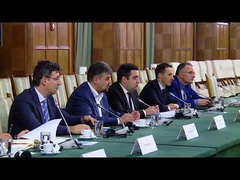 9/25/17: Întâlnire cu reprezentanții American Chamber of Commerce în Romania
