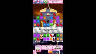 Candy Crush Saga level  219 WALK THROUGH