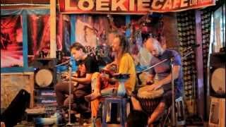 Live Music In Loekie Cafe. GOA. Arambol. (04.01.2013)