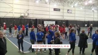 Tennis Québec finale 2017 - McGill - Udm