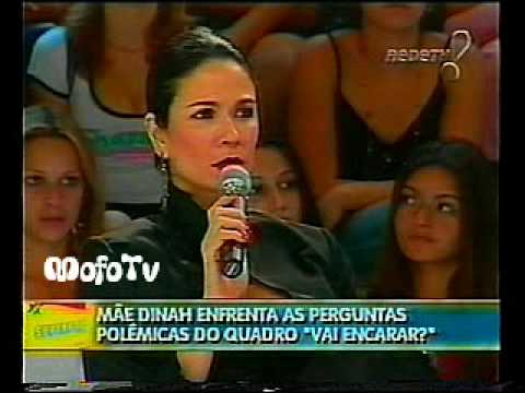 Mãe Dinah fala de Ayrton Senna e Mamonas Assassinas no Superpop (2005)