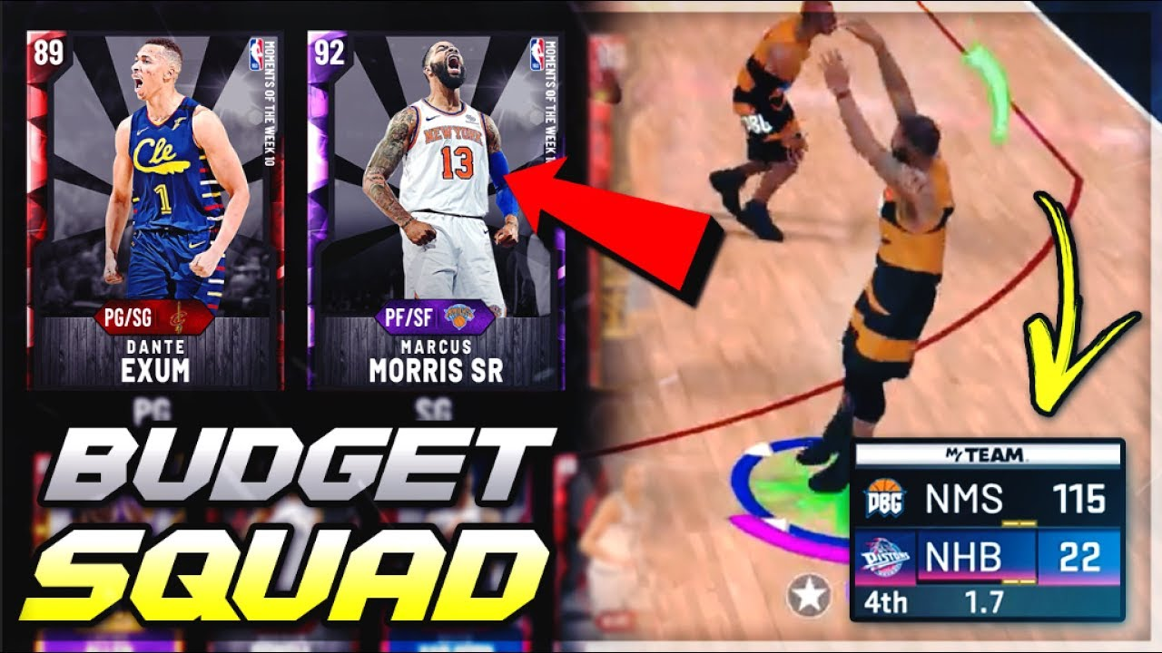 This 5k Mt Duo Can Compete Against Goat Squads In Nba 2k20 Myteam Best Budget Squad 1
