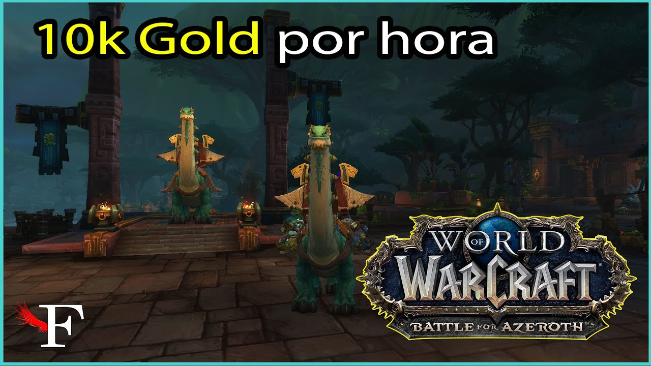 FARMANDO GOLD COM PROFISSÕES BÁSICAS - WORLD OF WARCRAFT - #63 PTBR