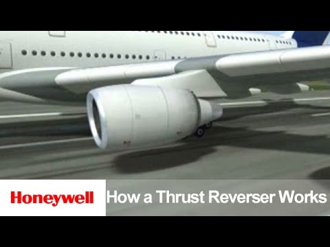 How a Thrust Reverser Works | Products | Honeywell Aviation
