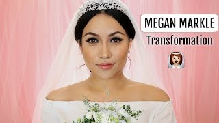 MEGHAN MARKLE Bride Makeup Transformation !!!
