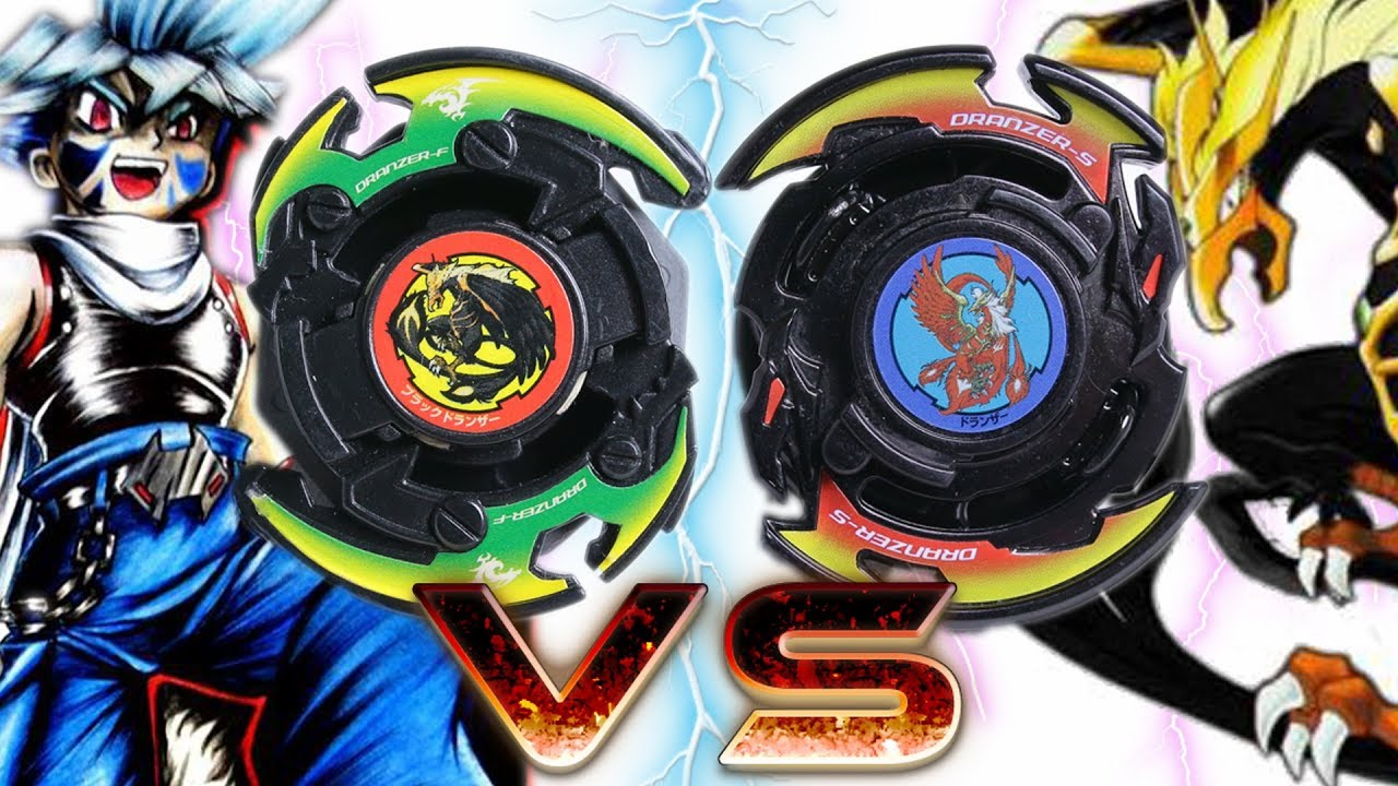 black dranzer vs black dranzer beyblade burst battle plastic vs