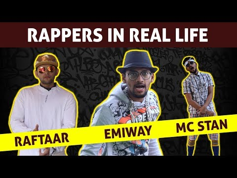 Rappers in Real Life   Emiway Bantai   Raftaar   Divine   MC Stan   Gully Boy   Funcho Entertainment