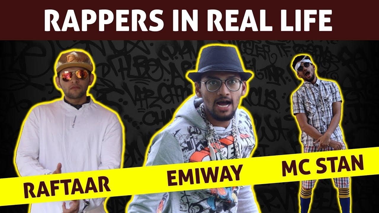 Download Rappers in Real Life | Emiway Bantai | Raftaar | Divine | MC Stan | Gully Boy | Funcho Entertainment
