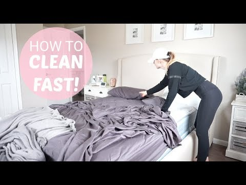 HOW TO CLEAN FAST | Speed Cleaning