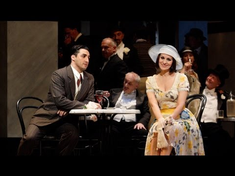 La rondine: Angela Gheorghiu and Charles Castronovo (The Royal Opera)