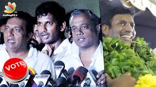VICTORY CELEBRATION : We'll shift our offices to producer council : GVM | Vishal, Prakash Raj