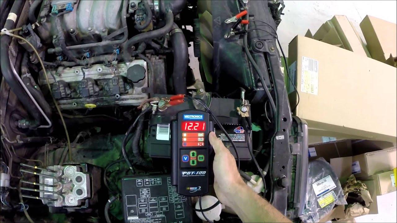 MIDTRONICS Battery Conductance Tester PBT100