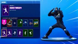 'NEW' LEAKED Fortnite Skins - EMOTES GAMEPLAY (Capoeira, Fancy Feet, Shake it Up, Dance Therapy)