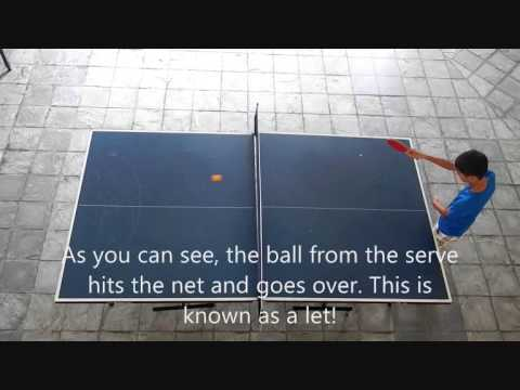 Let serve table tennis 101 youtube for Table tennis serving rules