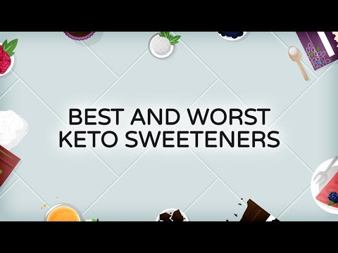Best and Worst Keto Sweeteners