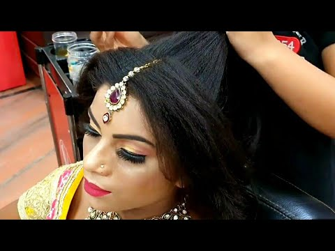 parlour-jaisa-easy-&-beautiful-party-&-wedding-hairstyle-at-home//wedding-hairstyle-for-2020