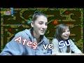 Ateş ve Su Oynuyoruz - Ablama Öğretirken Çok Eğlendim - Eğlenceli Oyun Videosu - Funny Games