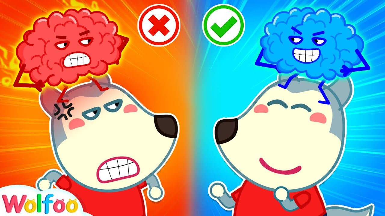 Download No No, Wolfoo! Don't Be Angry - Hot vs Cold Brain - Learn Good Behavior for Kids | Wolfoo Channel