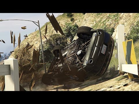 GTA 5 INSANE CAR CRASHES COMPILATION!!! thumbnail