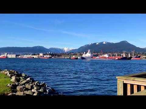 Vancouver East ships at sea