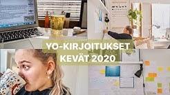 YO-KIRJOITUKSET 2020 | VLOGI