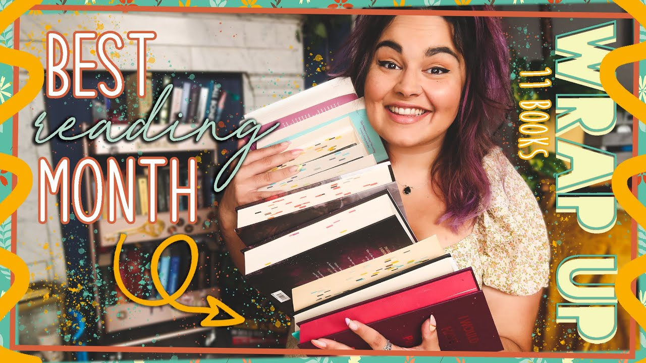 JULY WRAP UP // 11 Books // 2021