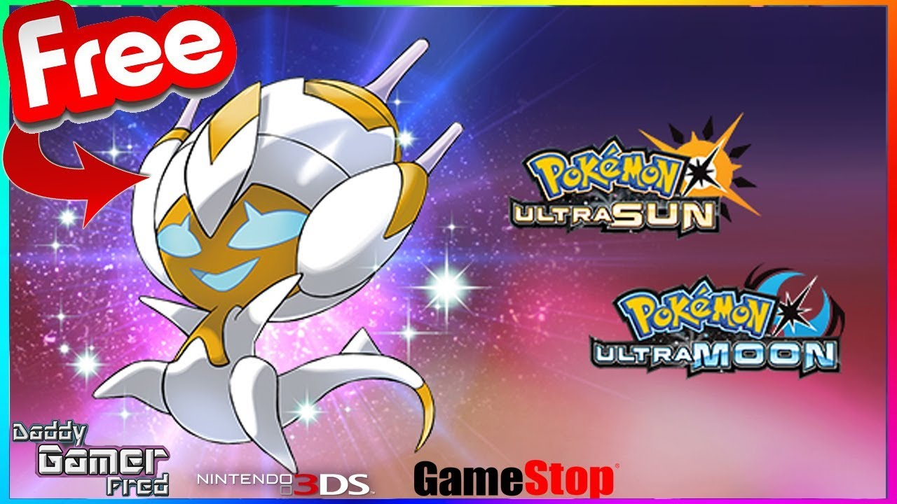 Shiny Poipole Event At GameStop! Pokémon Ultra Sun and Ultra Moon