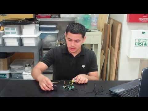 Jose presents his robot arm first milestone!