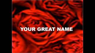 YOUR GREAT NAME by Natalie Grant KARAOKE instrumental