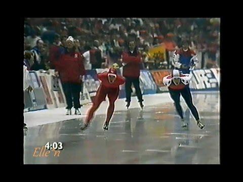 European Championships Heerenveen 1992 - 10 km Veldkamp - Koss