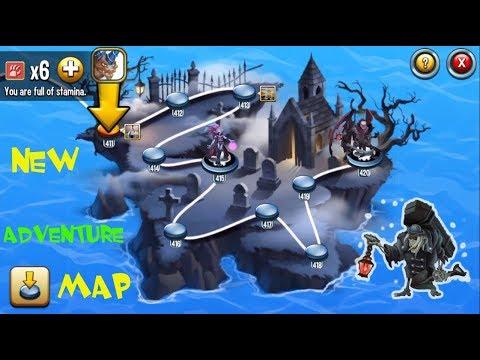 Monster Legends - Adventure Map level 411 to 420 combat review :D
