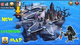 Monster Legends - Adventure Map level 411 to 420 combat review