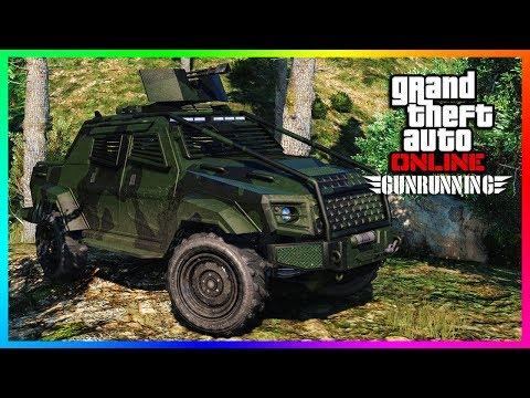 GTA ONLINE NEW DLC VEHICLE RELEASED SPENDING SPREE - INSURGE