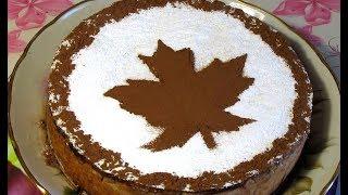 Рецепт пирога из творога с яблоками и черносливом / Cheesecake recipe /  With apples and prunes