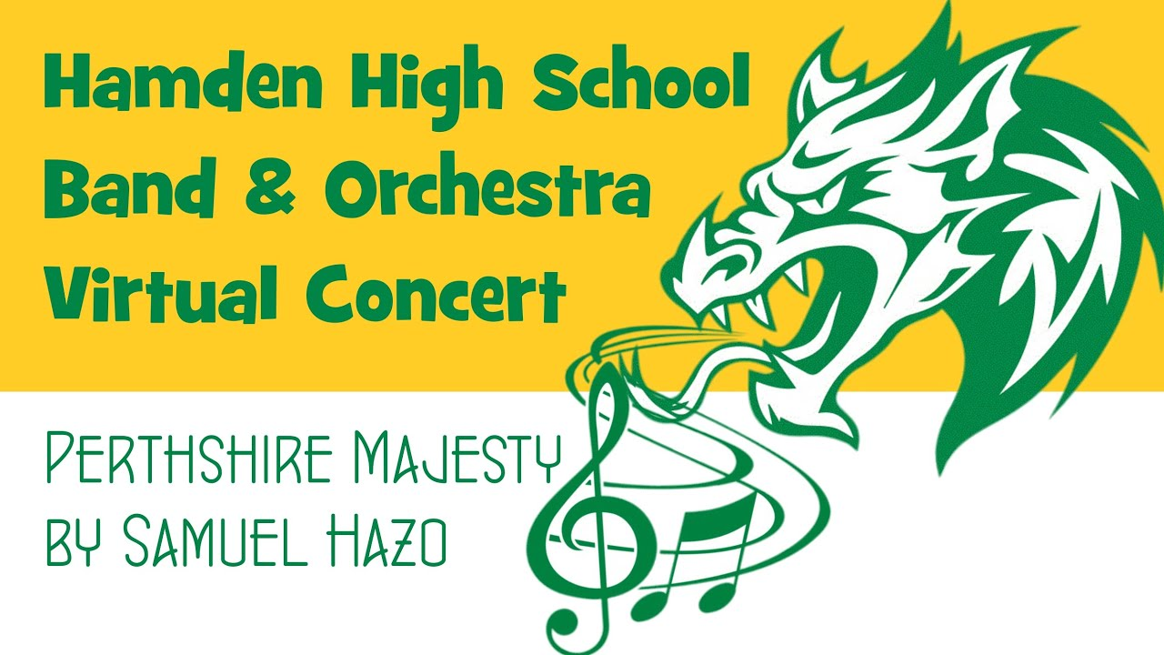 Listen: Hamden High Band & Orchestra Virtual Spring Concert