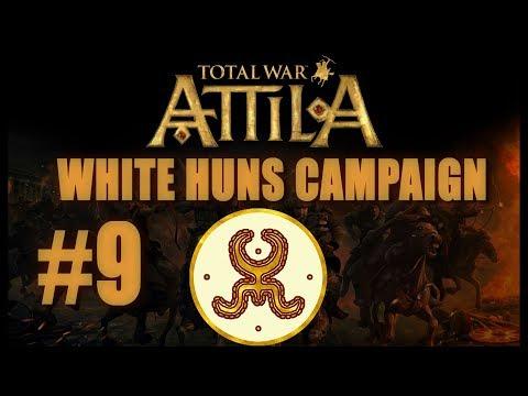 Total War: Attila - White Huns Campaign #9