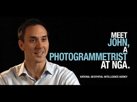 Meet John, a photogrammetrist at NGA