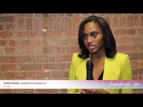 #IAMWALKERSLEGACY: Jewel Burks, Diversity Evangelist, Google